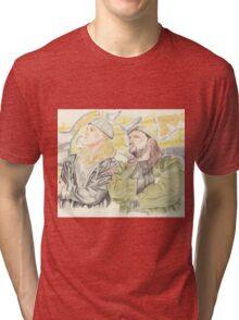 Jay and Silent Bob. Tri-blend T-Shirt