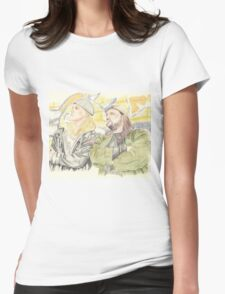 Jay and Silent Bob. Womens Fitted T-Shirt