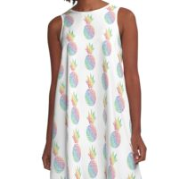 Billy Rays Pineapple A-Line Dress