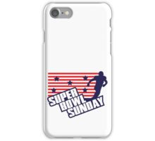 Super Bowl Sunday iPhone Case/Skin