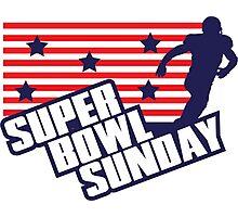 Super Bowl Sunday Photographic Print