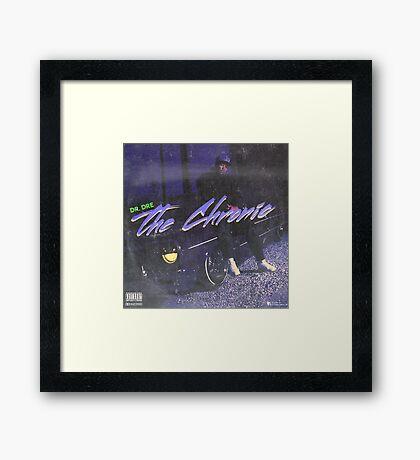 Dr. Dre - The Chronic (fan made album cover) Framed Print