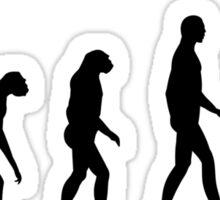 Evolution cheerleading Sticker