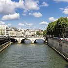 River Seine, Paris, France by Elaine Teague