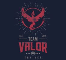 Team Valor Pokemon Go Kids Tee
