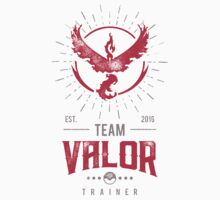 Team Valor Pokemon Go One Piece - Short Sleeve