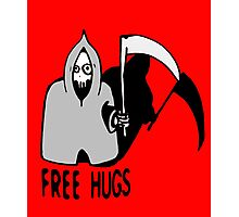 Free Hugs by The Death  (joke version) Photographic Print