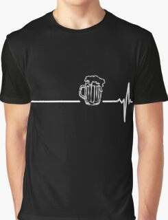 Beer heartbeat Graphic T-Shirt