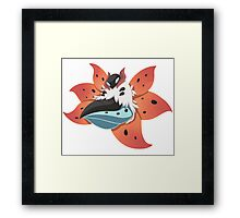 Pokemon - Volcarona Framed Print