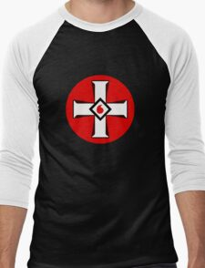 KKK Logo Men's Baseball ¾ T-Shirt