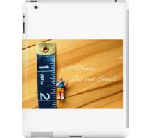 All Things Big and Small iPad Case/Skin