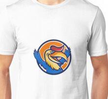Hornbill Open Arms Circle Cartoon Unisex T-Shirt
