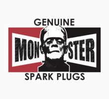 Genuine Monster Spark Plugs One Piece - Short Sleeve
