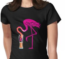 Flaminging going gone! Womens Fitted T-Shirt