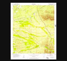 USGS TOPO Map Arizona AZ Tombstone SE 313764 1952 24000 Unisex T-Shirt