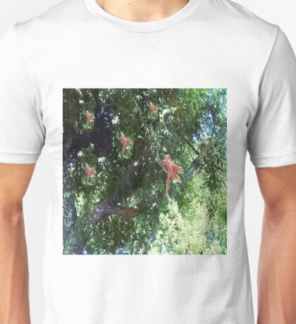 Red Dragonfly Green by LadyT Designs Unisex T-Shirt