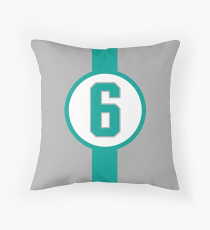 Rosberg 6 Throw Pillow