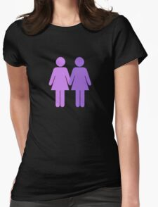 Girls Who Like Girls Womens Fitted T-Shirt