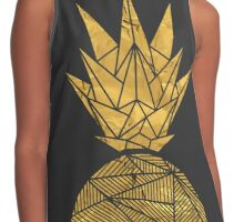 Bullion Rays Pineapple Contrast Tank