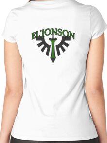 Lion El'Jonson - Sport Jersey Style Women's Fitted Scoop T-Shirt