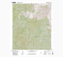 USGS TOPO Map Arizona AZ Crown King 311039 1969 24000 One Piece - Long Sleeve