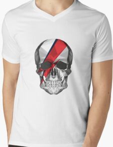 Ziggy Skulldust Mens V-Neck T-Shirt
