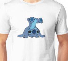Cute Stitch upside down Unisex T-Shirt