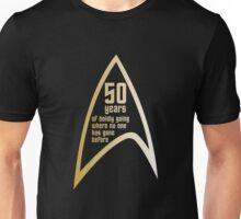 50 years of Star Trek Unisex T-Shirt