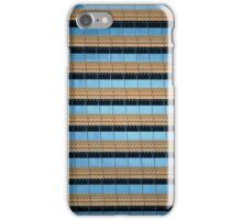 Urban Abstract: Blue and Gold iPhone Case/Skin