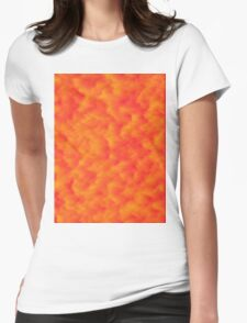 Sunset of Orange Womens Fitted T-Shirt