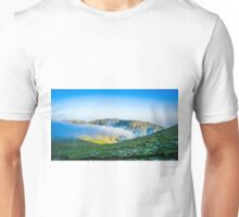 Lifting Morning Mist Over The Mountain Unisex T-Shirt