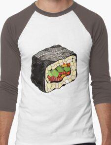 Sushi illustration Men's Baseball ¾ T-Shirt