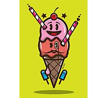 Ice Cream Vector Photographic Print