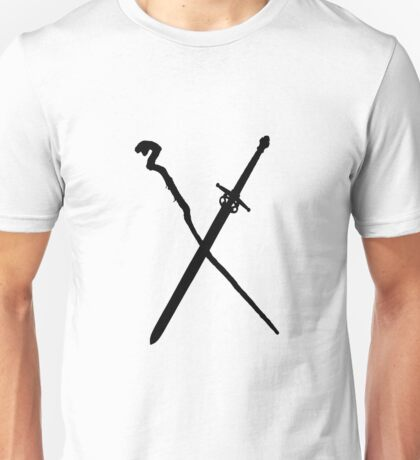 Dungeons And Dragons: The Staff And Sword Unisex T-Shirt