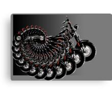 harley spiral Canvas Print