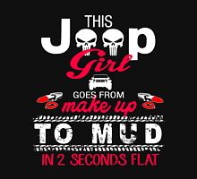This Jeep girl goes from to mud in 2 seconds flat Womens Fitted T-Shirt