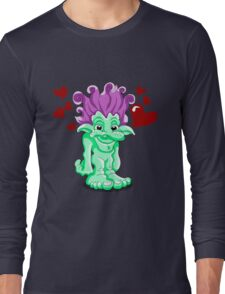 Funny Lovely Troll Long Sleeve T-Shirt