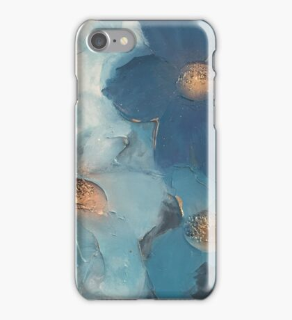 Moody Blues Floral iPhone Case/Skin