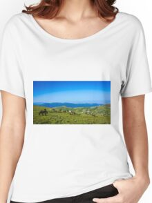 Herd Of Horses high In The Mountains Women's Relaxed Fit T-Shirt