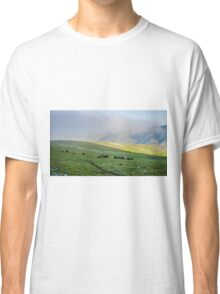 Herd Of Horses high In The Mountains Classic T-Shirt