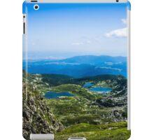 Beautiful Lakes In The Mountain (The Seven Rila Lakes) iPad Case/Skin