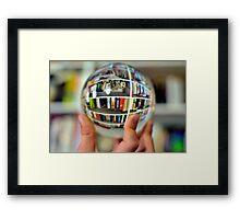 Fisheye deluxe Framed Print