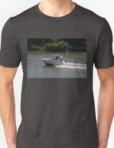 Powerful Motor Boat Unisex T-Shirt