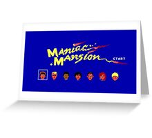 Maniac Mansion Greeting Card