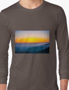 Beautiful sunrise over the Mountain Long Sleeve T-Shirt