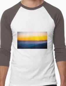 Beautiful sunrise over the Mountain Men's Baseball ¾ T-Shirt