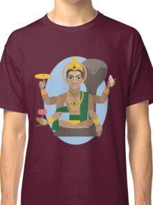 illustration of Hindu deity lord Vishnu Classic T-Shirt