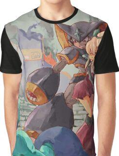 Megaman & Ciel Graphic T-Shirt