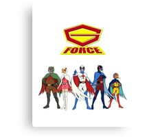 The Cool Movie Cartoon G-Force Canvas Print