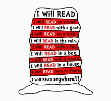 I Will Read Book Womens Fitted T-Shirt